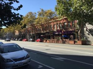 Chaco's parklet, East San Fernando Street