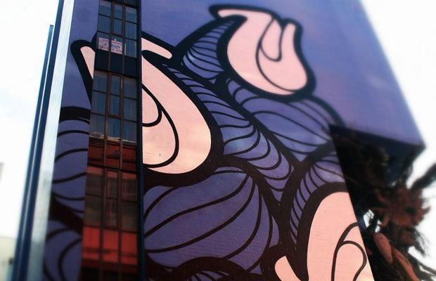 Birmingham factory mural